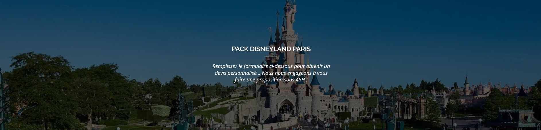 Pack Disneyland Paris